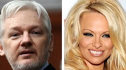Pamela Anderson Brings Julian Assange A Vegan