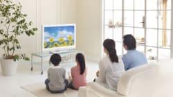 テレビ視聴数 と オンライン動画視聴数