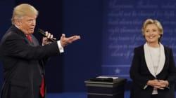 Dernier débat Clinton-Trump: quel format et où le