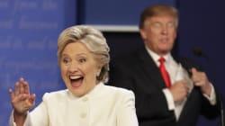 «Nasty woman»: l'insulte de Trump à Clinton qui ne passe