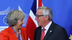 La sorprendente respuesta de Juncker sobre su encuentro con Theresa