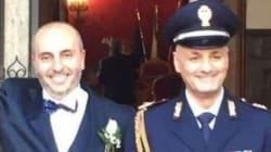 Primo sì in divisa per due poliziotti romani: