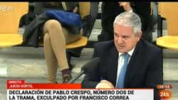 Gürtel: Crespo niega acusaciones y acusa a la Fiscalía y a
