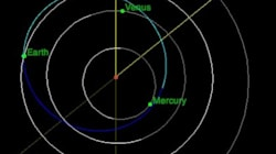 Asteroid Makes Close Brush With