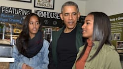 Sasha Obama Just Trolled Her Dad On