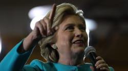 Hillary Clinton passera la soirée électorale à New York, sous un plafond de