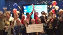 21 personnes de la même famille gagnent 1M $ à la Lotto