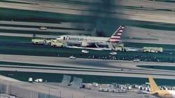 Un avion prend feu au décollage à Chicago, plusieurs