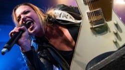 Les meilleures photos du concert de Halestorm au