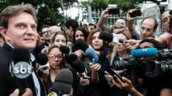 Crivella se diz confiante e pede militância nas ruas para 'garantir