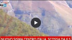 Il Monte Vettore squarciato dal terremoto
