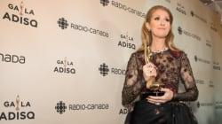 Ce que Céline Dion a dit dans la salle de presse du Gala de