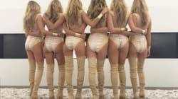 No estás viendo mal: Heidi Klum se clonó para