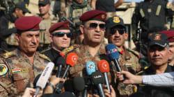 Les forces irakiennes sont entrées à