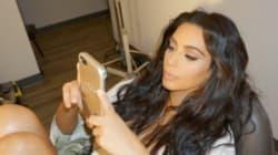 Kim Kardashian fait un retour discret sur