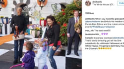 Obama Sings 'Purple Rain' For Adorable Kid Dressed Up As
