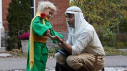 El ADORABLE disfraz de Trudeau y su hijo pequeño en