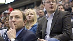 Harper Gets Cozy With NHL Boss At All-Star