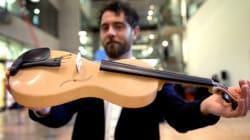 Un italiano ha rivoluzionato la musica: ha creato il violino in seta di
