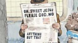 Les Unes du «New Yorker» et de «Time» résument parfaitement ce que l'on pense de l'élection