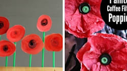 11 Poppy Crafts To Mark Remembrance