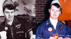 O australiano Russell está festejando 30 anos de trabalho no McDonald's