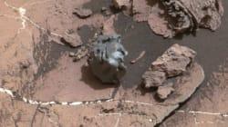 Curiosity a fait une drôle de découverte à la surface de