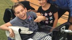 Atteint d'une paralysie cérébrale, cet enfant s'est fait éjecter d'un rassemblement de