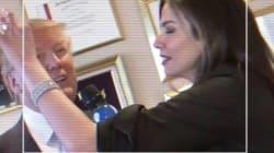 Dinheiro, peruca e assédio: A estranha entrevista que Trump concedeu a Luciana