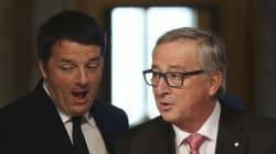 Renzi-Juncker, torna lo scontro: il 16 novembre il giudizio della Commissione sulla