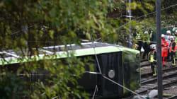 Cinq morts et 50 blessés dans le déraillement d'un tramway au sud de