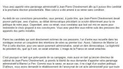 Comment Marine Le Pen veut récupérer l'abandon de