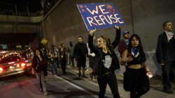 Nouvelles manifestations anti-Trump à travers les