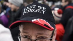 Thousands Brave The Cold For National Remembrance Day