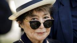 Yoko Ono a un message pour Donald Trump. On n'a toujours pas compris ce qu'elle voulait