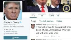 D'après Trump, les réseaux sociaux ont contribué à sa