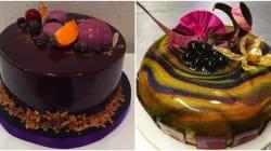 Ces gâteaux (très) luisants enflamment le