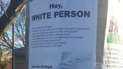 Racist Alt-Right Posters Plastered Near Toronto Elementary