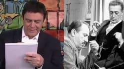 Crozza diventa Renzi-Totò per scrivere la lettera agli italiani