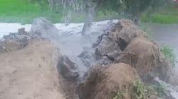 Quel vulcanello di fango nato da un pozzo perforato nel