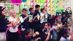 Cette enseignante rappe avec ses élèves pour les