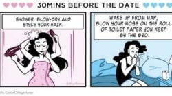 Queste vignette raccontano come cambiano i rapporti dopo il primo