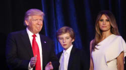 Barron And His Mom Won't Be Moving To The White