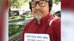 Quest'uomo americano si rifiuta di scoprire chi ha vinto le