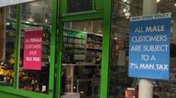 Uma farmácia em NY anunciou 'imposto para homens' e eles ficaram