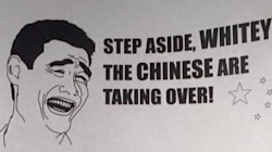 Racist Flyers Call On 'Whitey' To Save B.C. City From Chinese