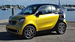 Premier contact avec la smart Fortwo Electric Drive 2017, sac à main