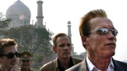 Arnold ne visitera pas le Taj
