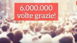 Change.org festeggia sei milioni di utenti in