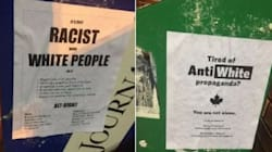 Racist Alt-Right Posters Shock